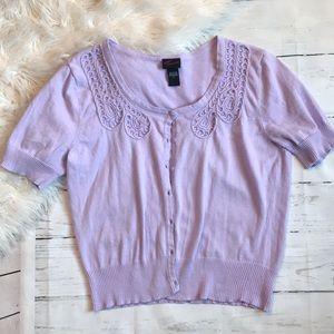 Lavender Torrid Cardigan